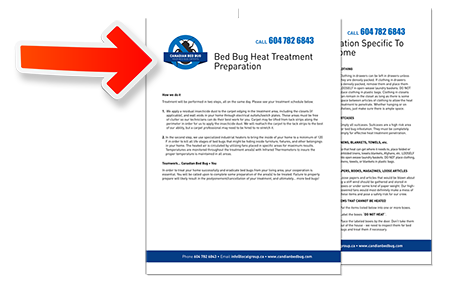 Download The Instructions And Checklist Before A Heat Treatment. Heat  Treatment Preparation Sheet